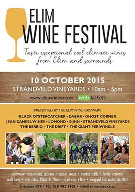 Elim Wine Festival 10th October 2015