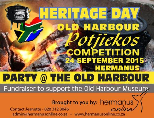 Heritage Day - National Braai Day - 24th Sept 2015
