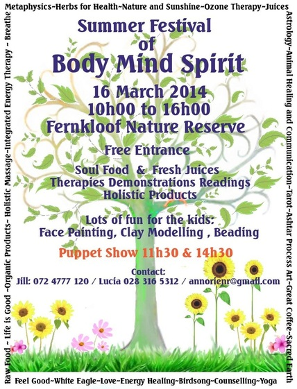 Body, Mind and Spirit Festival, Fernkloof, Hermanus