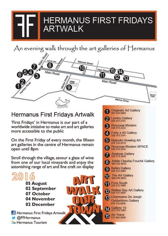 Hermanus First Fridays Artwalk