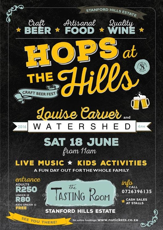 Stanford Hills Estate Festival, near Hermanus, Saturday 18th June