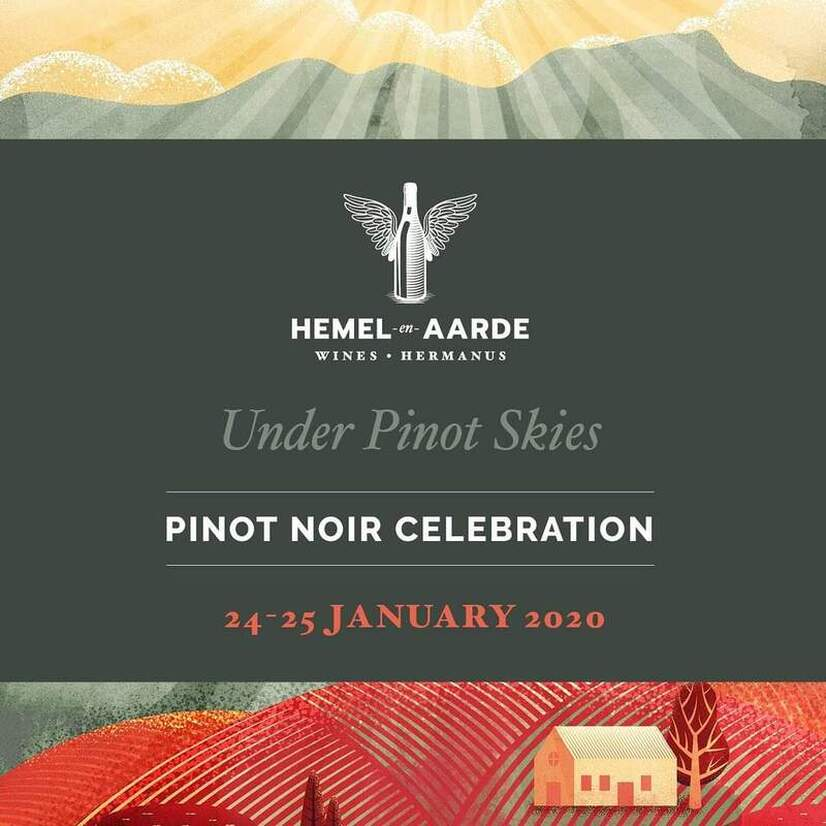 Pinot Noir Celebrations in Hermanus 24th and 25th January 2020