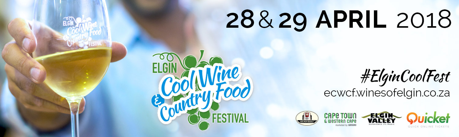 Elgin and Grabouw 2018 - Wine and Food Festival - 28th and 29th April 2018